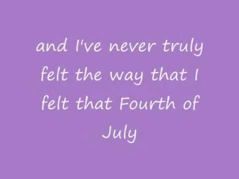 Mariah Carey - Fourth of July (lyrics on screen)