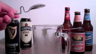 How to make a Black and Tan spoon and a PERFECT pour