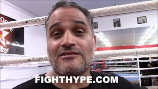 TRAINER RICKY FUNEZ ON FLOYD MAYWEATHER SPARRING AND TRAINING AT TEN GOOSE: