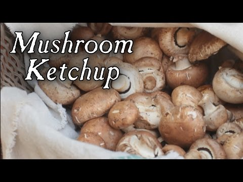 Making Mushroom Ketchup, 18th Century Cooking Series at Jas. Townsend and Son - Townsends