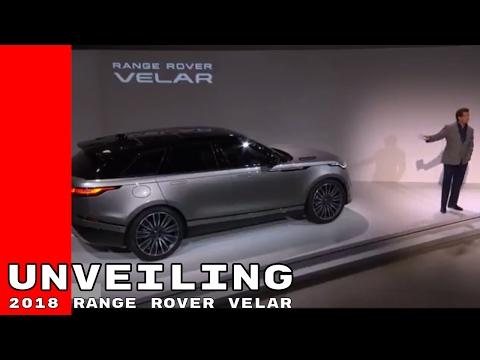 Full 2018 Range Rover Velar Unveiling At London