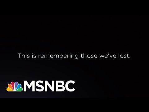 This Is Remembering Those We've Lost.   Eddie Glaude Jr.   MSNBC
