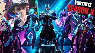 REACTION AL PASS BATTAGLIA 10 e TRAILER SEASON X - Fortnite ITA