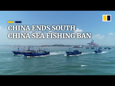 China ends fishing ban in South China Sea, raising fear of potential conflicts among fishermen
