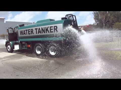 98' Peterbilt 330 Water Tank truck