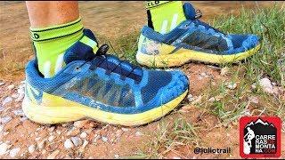 Salomon XA Elevate: Zapatillas trail para terreno técnico y rocas. Prueba 450k por @juliotrail