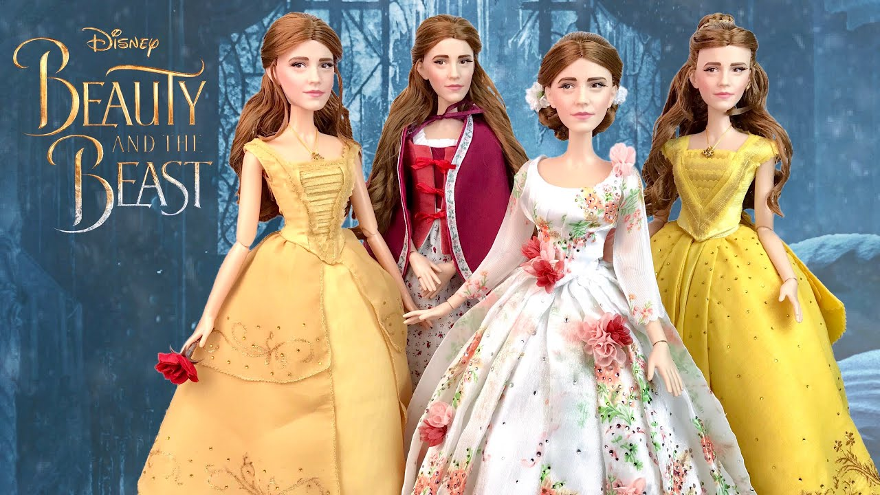 Beauty And The Beast Emma Watson Belle CELEBRATION Doll REVIEW Plus My CUSTOM Dolls