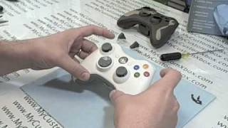 How To Disassemble an Xbox 360 Controller - By MyCustomXbox