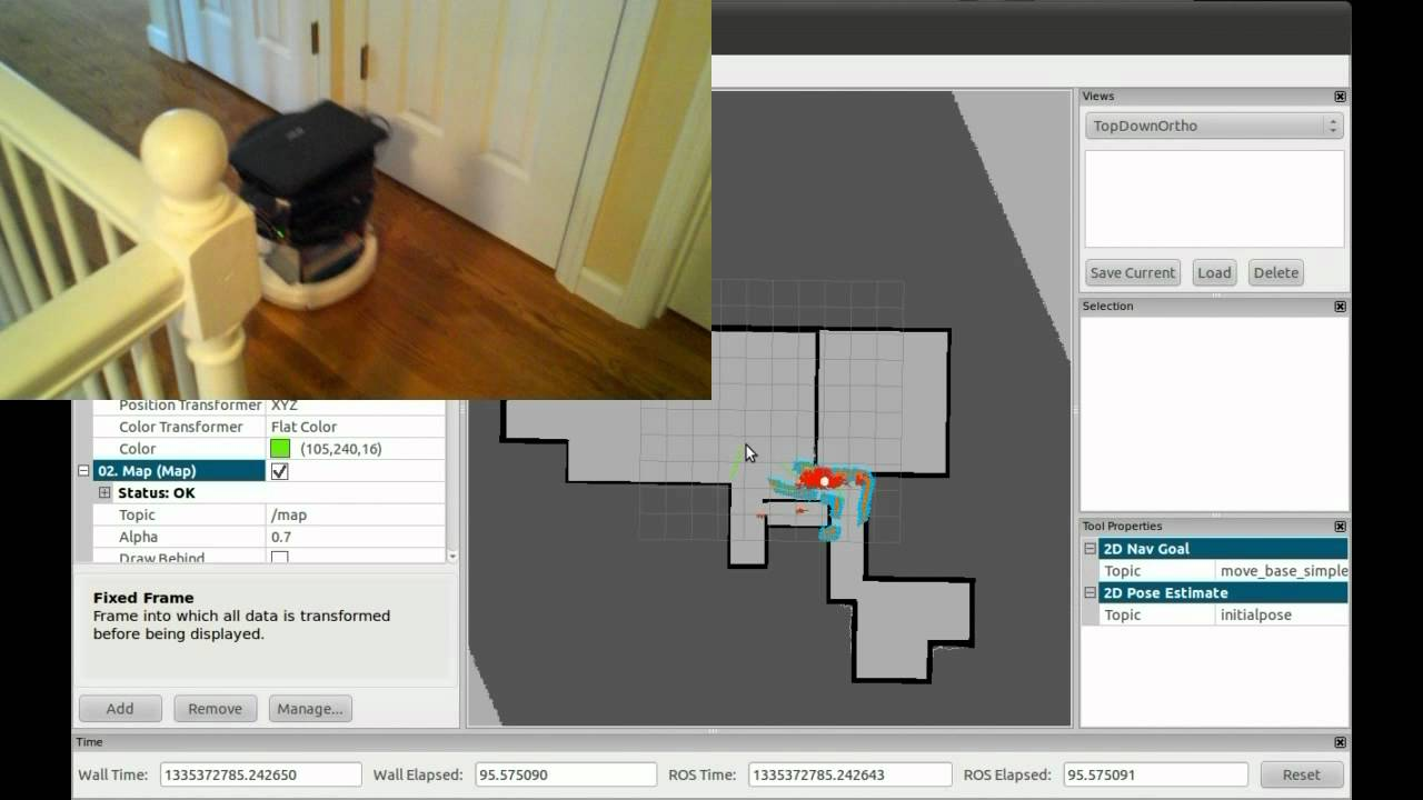 ROS Home Navigation Example