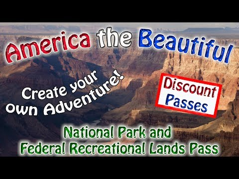 America The Beautiful National Parks Discount Pass