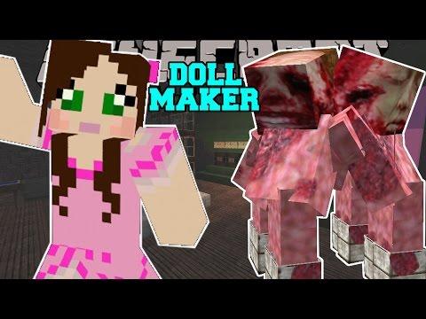 Minecraft - THE CRAZY LABORATORY! - The Doll Maker - Custom Map [2]