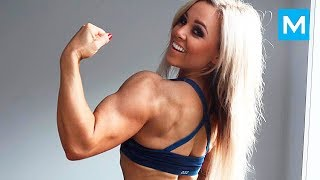 Beautiful Girls Also Lift Heavy Weight - Stephanie Sanzo | Muscle Madness