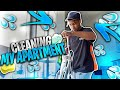 WATCH ME CLEAN MY APARTMENT (Cleaning Motivation)