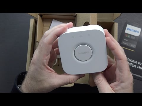 Philips Hue White A19 Starter Kit Unboxing and Setup