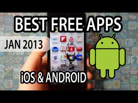BEST FREE APPS OF JANUARY 2013