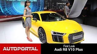 Audi R8 V10 Plus Auto Expo 2016 - Autoportal