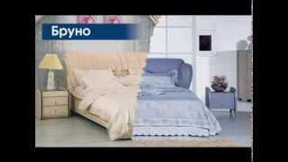 видео Кровать дизайнерская Palermo, Белый