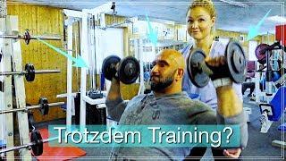 Mit Verletzung trainieren