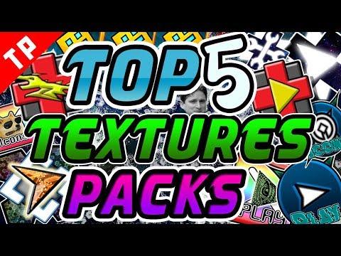 TOP 5 Textures Packs INOLVIDABLES Para Geometry Dash 2.11 [#1] - Raxter