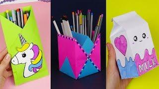 30 Diy School Supplies | Easy Diy Paper Crafts Ideas
