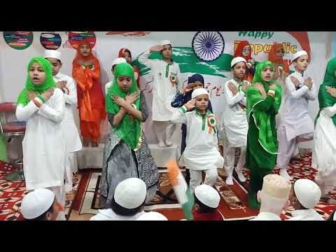 National Song at ( IIED) Institute Of Islamic Education Delhi On Republic Day 2020