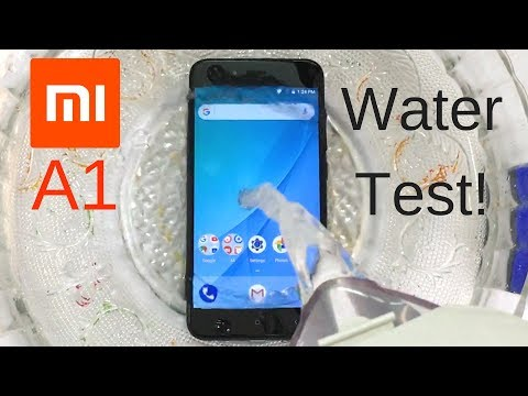Xiaomi Mi A1 Water Test! Actually Waterproof?