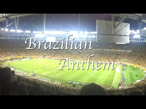 Brazilian Anthem - Confederations Cup Final (2013)