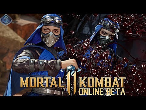 Mortal Kombat 11 Online Beta - AWESOME SKARLET COMBOS! thumbnail