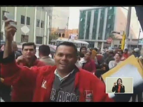 El video de venezolanos en embajada de Lima pidiendo repatriarse, que mostró Maduro en cadena