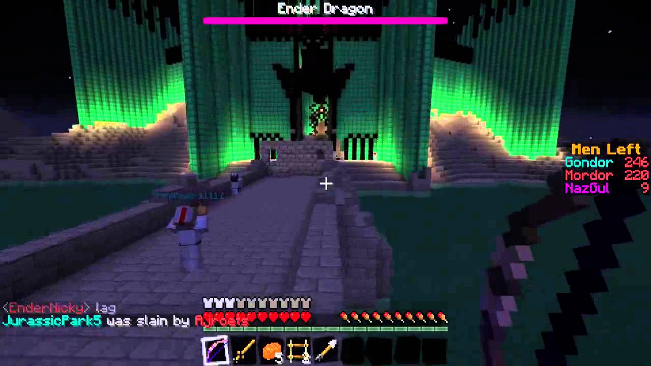 "Minecraft: Lord Of The Rings ""Witch Kings Castle"" Part III ... Minecraft Lord Of The Rings Castle"