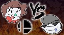 Salty VS Pastey (Smash Bros Ultimate)