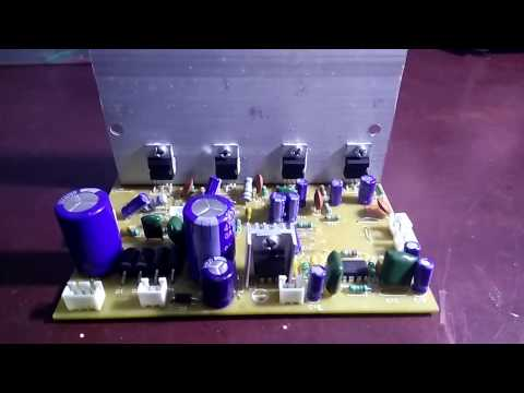 How to assemble 5.1 home theater amplifier board based on tda2030 up to 150 watt output