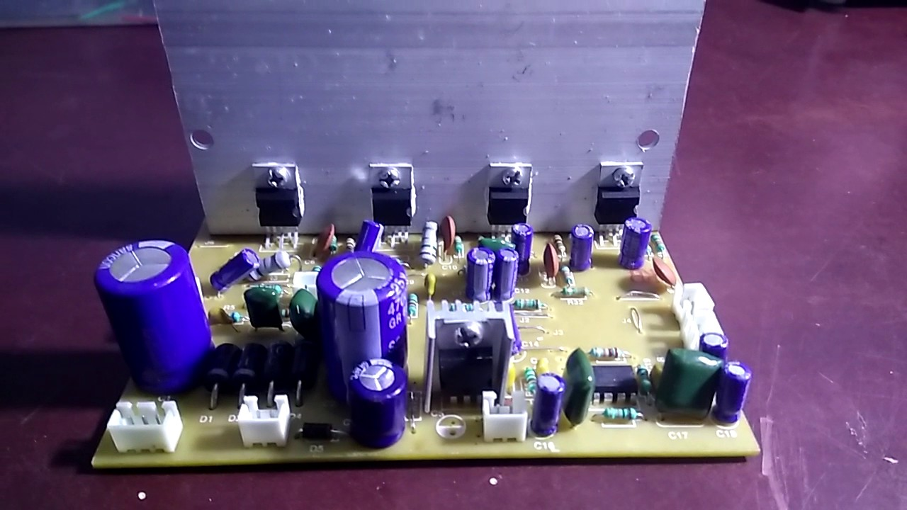 How To Assemble 51 Home Theater Amplifier Board Based On Tda2030 Up Bass Boost Section Output Driver With Ic 150 Watt