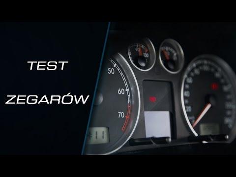 Test zegarów i licznika  - VW / Audi / Skoda / Seat