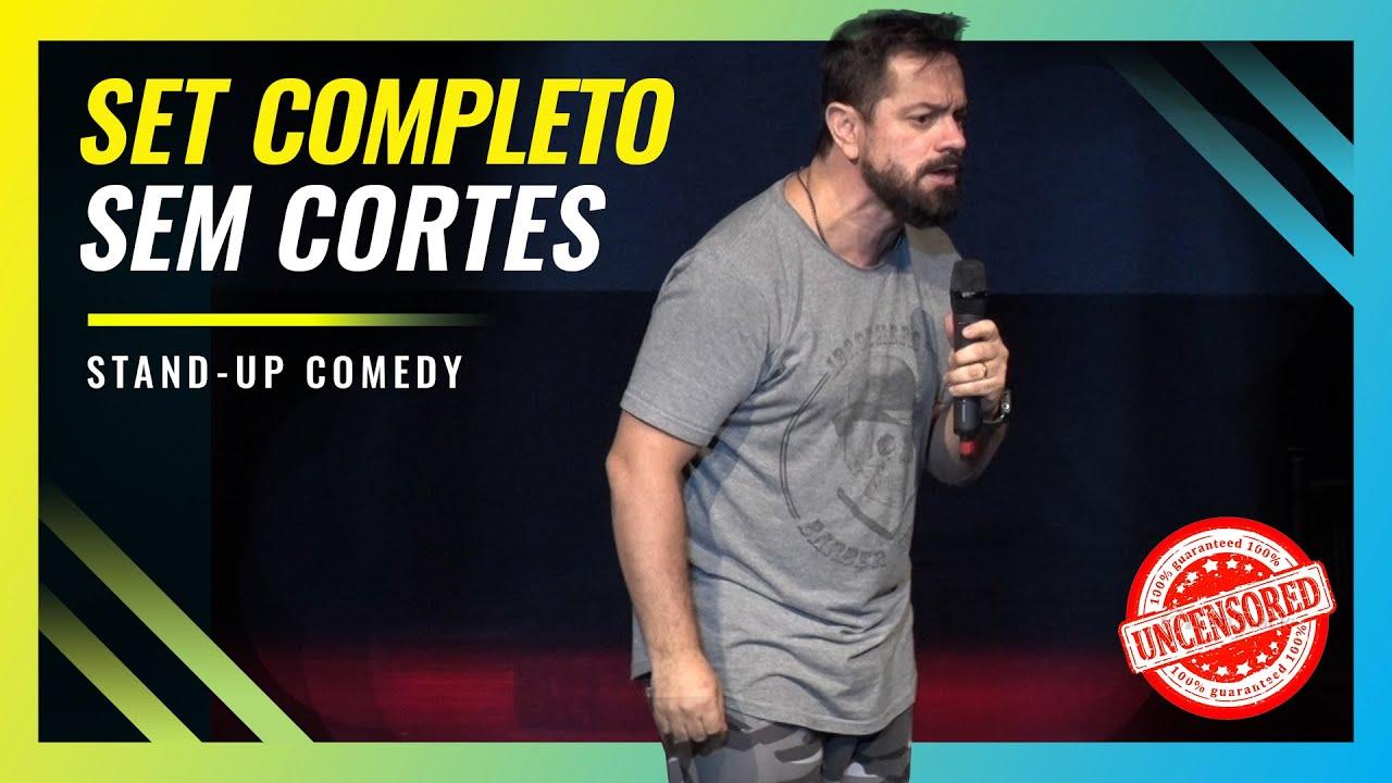 SET COMPLETO (FESTIVAL RISORAMA) - ROGÉRIO VILELA | Stand up Comedy