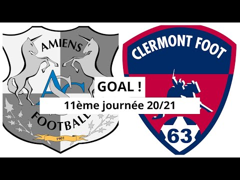 Amiens Clermont Goals And Highlights