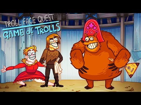 ИГРЫ ТРОЛЛЕЙ! Троллим ИГРУ ПРЕСТОЛОВ в Веселой игре Troll Face Quest Game Of Trolls от Cool GAMES