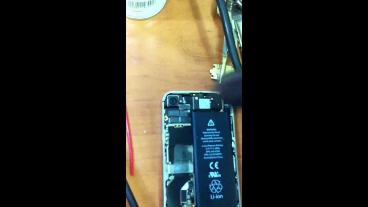 как починить модуль вайфая на iphone 4s инструкция
