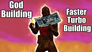 God Building (Faster than Turbo Building) - Fortnite Battle Royale