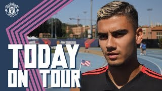 Andreas Pereira Ready to Challenge for First Team Place | Today on Tour | USA Tour 2018 Live on MUTV