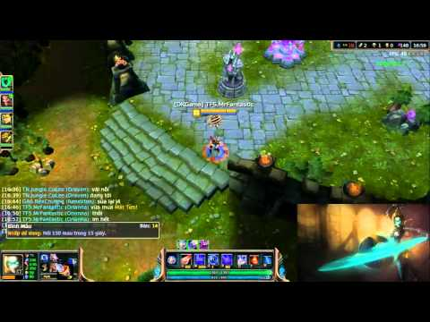 Team Ranked DominateKnight Gaming (Orianna vs Brand) (part 2)