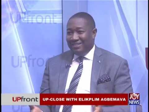 Up-Close with Elikplim Agbemava – Upfront on JoyNews (22-11-18)