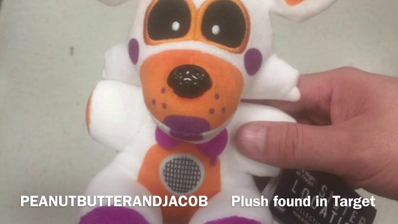Lolbit Plush In Target Not Exclusive Youtube