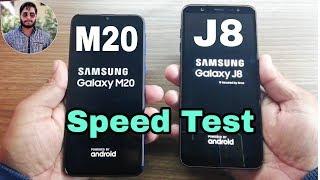 Samsung Galaxy M20 vs Galaxy J8 Speed Test?