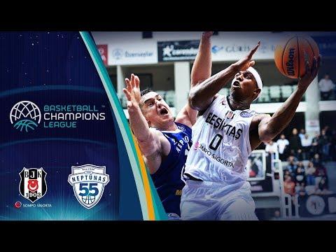 Besiktas Sompo Sigorta v Neptunas Klaipeda - Highlights - Basketball Champions League 2019-20