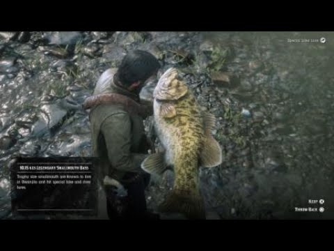 owanjila legendary fish rdr2