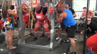 Derek Kendall World record squat attempt 1019lbs