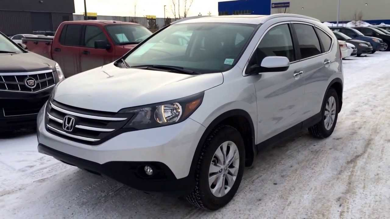 pre owned silver 2014 honda cr v touring awd alberta youtube. Black Bedroom Furniture Sets. Home Design Ideas