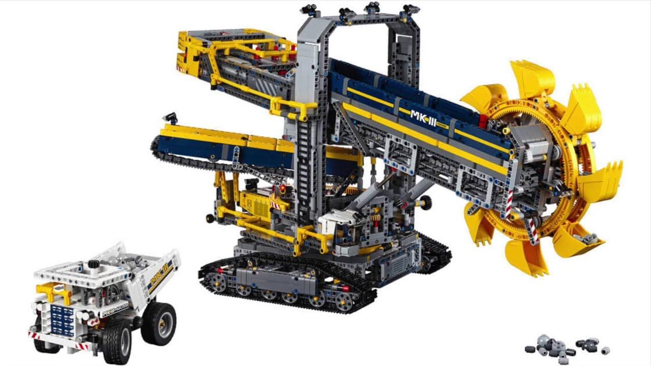 LEGO Technic Highlights 2HY2016 (42053+42054+42055) - YouTube
