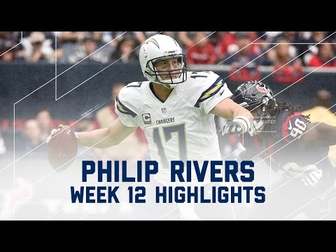Philip Rivers Tosses 3 TDs | Chargers vs. Texans | NFL Week 12 Player Highlights